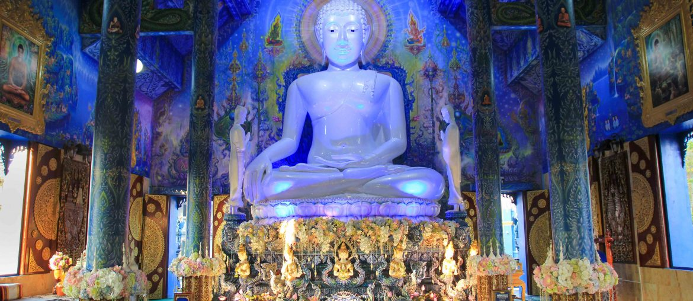 Blauer Tempel, Chiang Rai, Thailand