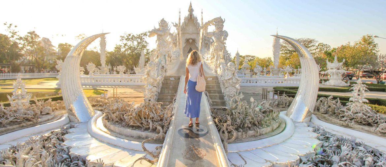 Weißer Tempel, Chiang Rai, Thailand