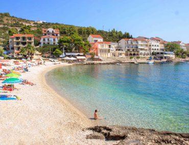 Strand Milna, Inel Hvar, Kroatien, Urlaub