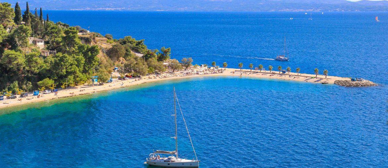 Kasjuni Beach, Split, Croatia