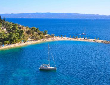 Kasjuni Strand, Split, Kroatien