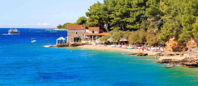 Beach Bijela Kuca, Bol, Brac Island, Croatia