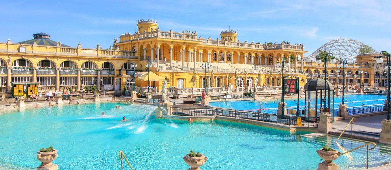 Szechenyi Baths, Thermal Bath, Budapest