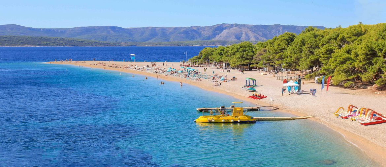 Zlatni Rat Beach, Croatia, Bol