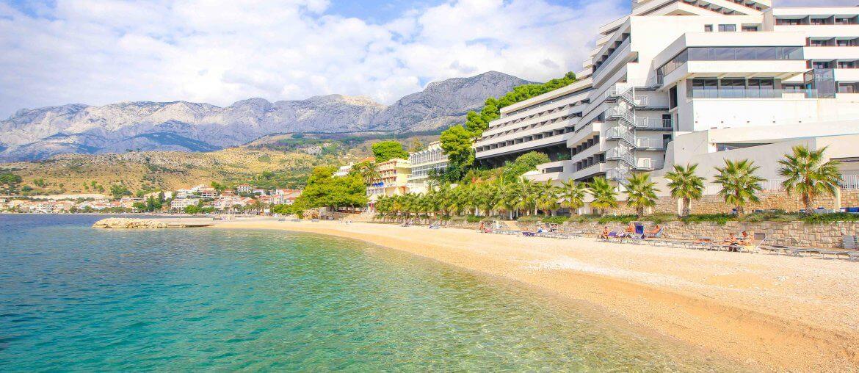 Beach Medora, Podgora, Croatia, Makarska Riviera