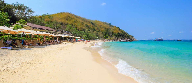 Ta Yai Beach, Koh Larn, Thailand, Near Pattaya