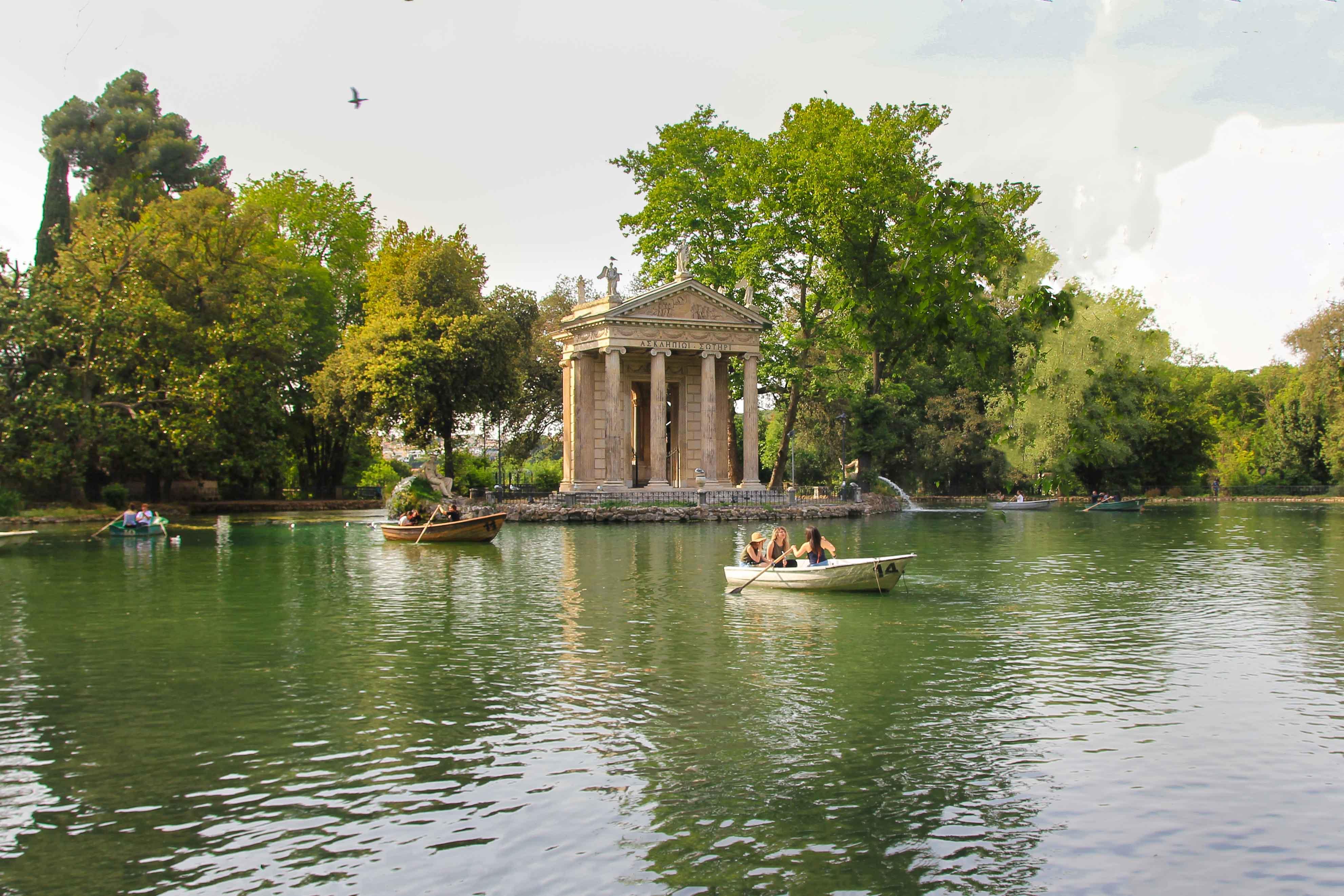 Park Villa Borghese, Rome