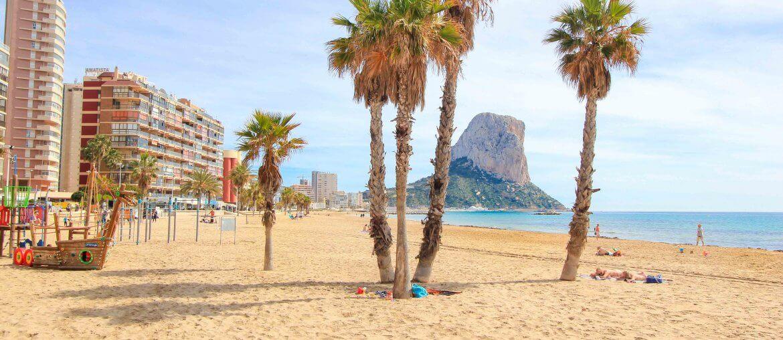 Playa del Arenal-Bol, Beach, Calpe, Spain