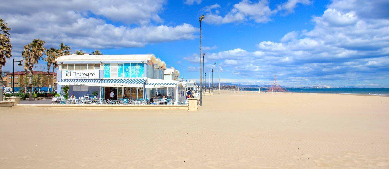 Playa del Malvarrosa, Beach, Valencia